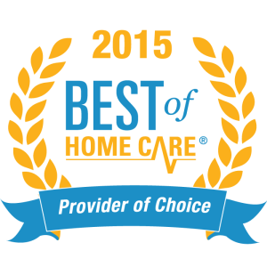 2015 Best of Home Care Provider of Choice Award